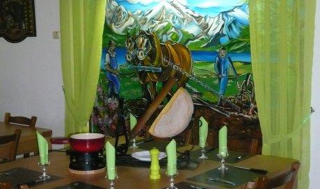 Restaurant avec salle pour séminaire et réunion d'entreprise Lugrin