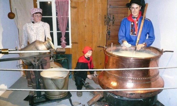 Musée sur la fabrication du fromage Lugrin