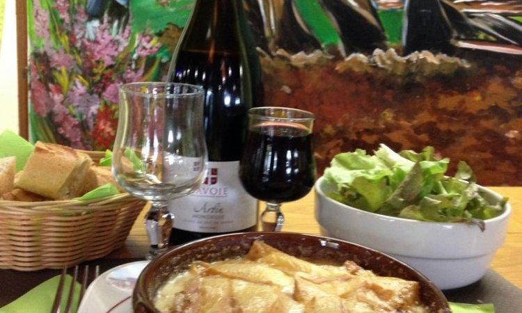 Les platssavoyards - Le Temple Du Fromageà Lugrin : Restaurant aux spécialités savoyardes